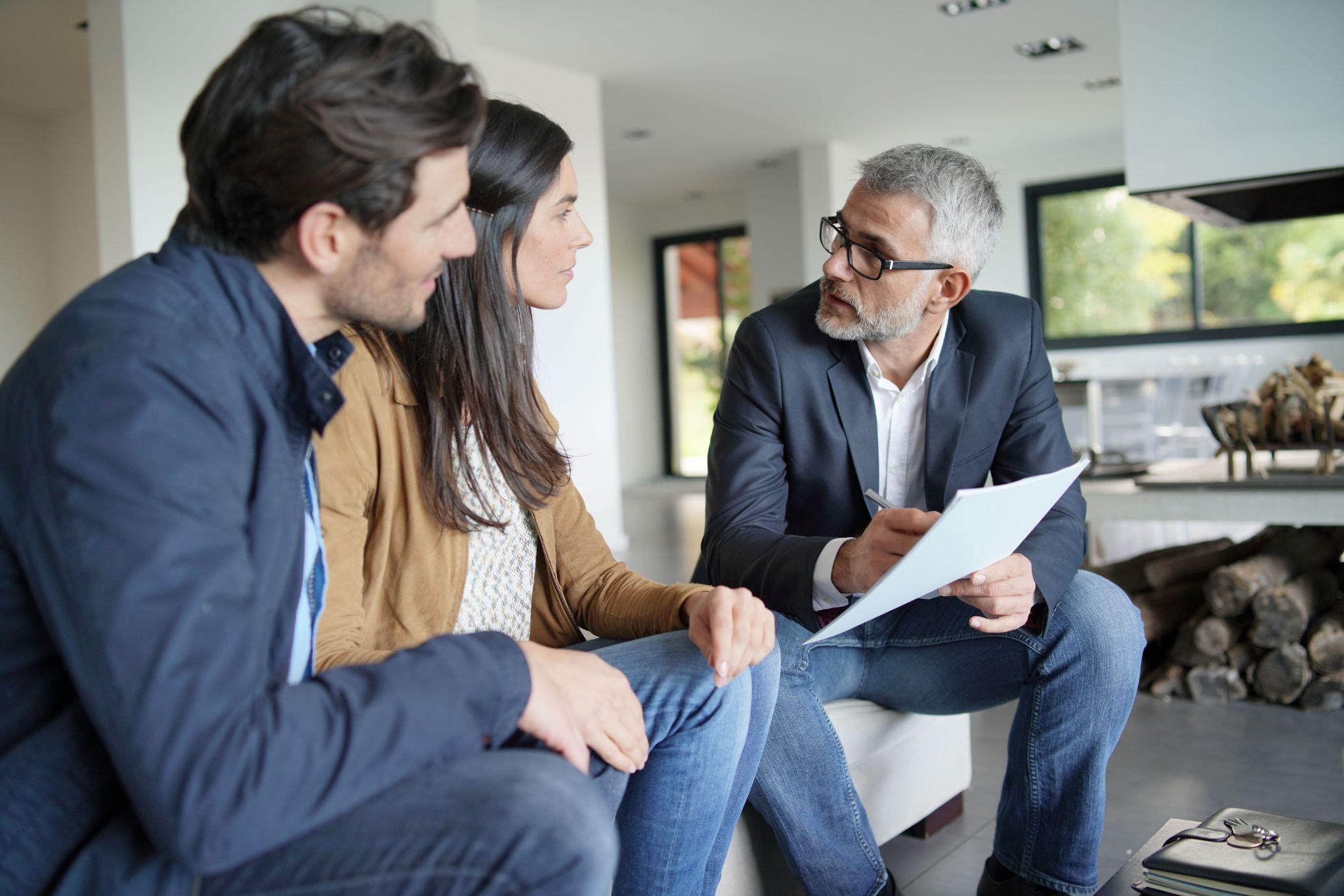 Immobilienmakler mit Erfahrung
